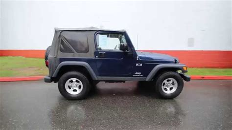 patriot jeep blue 2004 jeep wrangler x patriot blue 4p786346 redmond