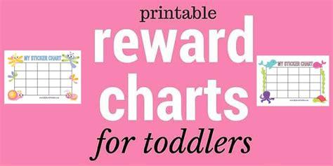 printable reward charts  bored toddler