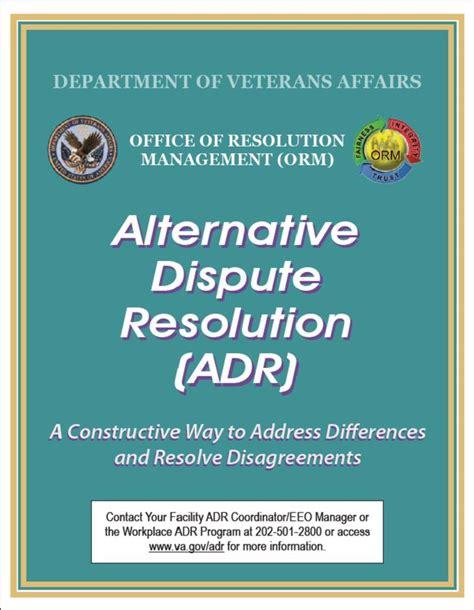 publications alternative dispute resolution adr