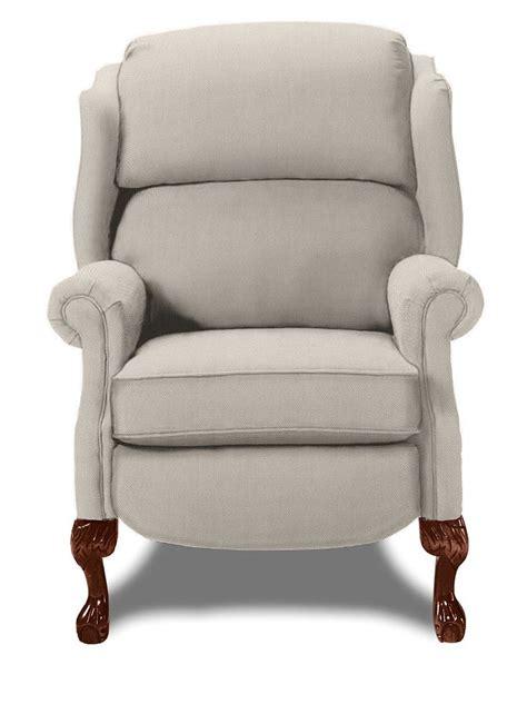 lazyboy richfield high leg recliner cover type fabric