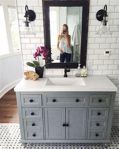 best 25 grey bathroom cabinets ideas on