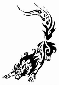 Night Wolf Tribal COMMISSION by Canyx on DeviantArt