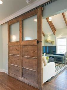 How to Build a Reclaimed Wood Sliding Door how-tos DIY