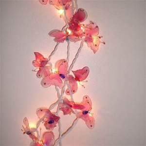 Guirlande Lumineuse Bébé : guirlande lumineuse de 20 papillons normes ce ~ Teatrodelosmanantiales.com Idées de Décoration