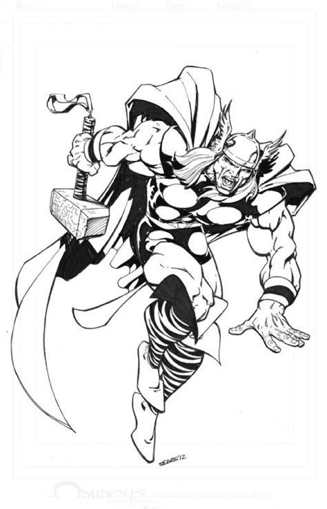 bart sears artwork | Bart Sears Thor Comic Art | Marvel