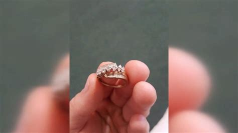 reunited with ring lost in pond 13 years