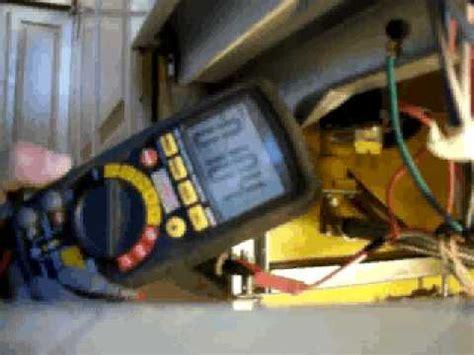 checking  water inlet valve  float   dishwasher