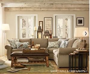 pottery barn living room love decorating pinterest With pottery barn living room designs