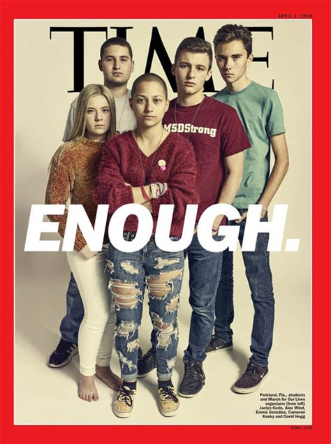 Image result for TIME MAGAZINE, ENOUGH