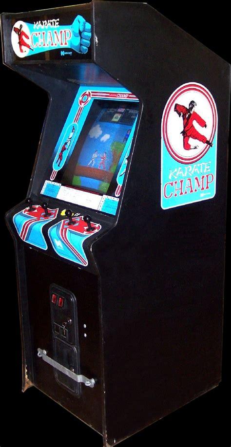 Karate Champ Cabinet Klovvaps Coin Op Videogame