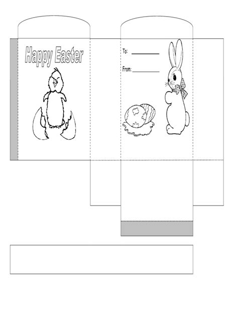 printable easter basket template edit fill sign