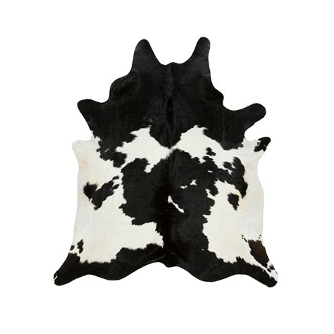 Black Cowhide Rug by Southwest Rugs Black And White Special Cowhide Rugs Lone