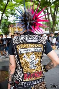 harajuku punks w liberty spikes studded vest leather