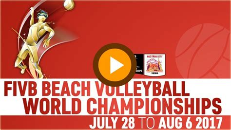 Beach Volleyball World Championships 2018 Live Streaming ...