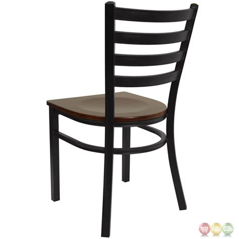 black ladder back chairs with seats hercules series black ladder back metal restaurant chair 9771