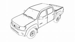 The Best Free Toyota Drawing Images  Download From 146
