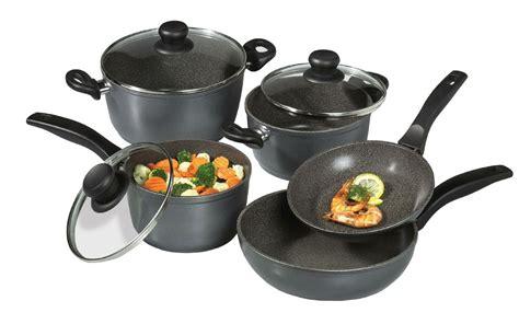 cookware stoneline stone induction nonstick purpose stove piece non stick pannen types brand pfoa different
