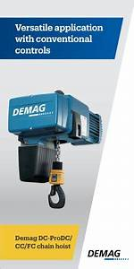 Demag Dc-prodc    Cc    Fc Chain Hoist