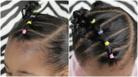 easy  minute toddler hairstyle youtube