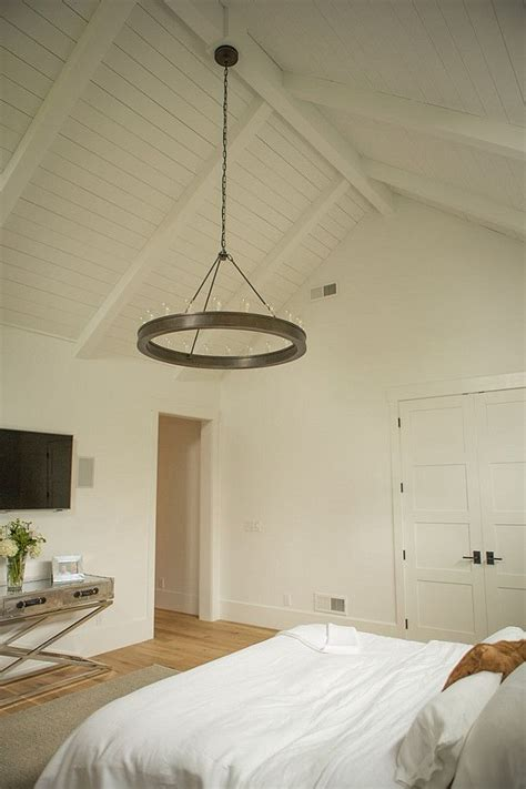 how to add a chandelier to a ceiling fan 25 best ideas about vaulted ceiling bedroom on