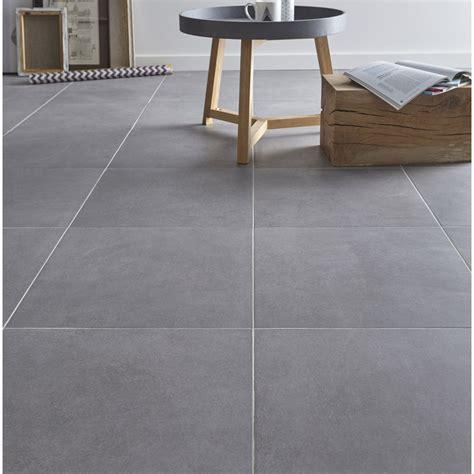 carrelage cuisine gris carrelage sol gris effet béton l 45 x l 45 cm