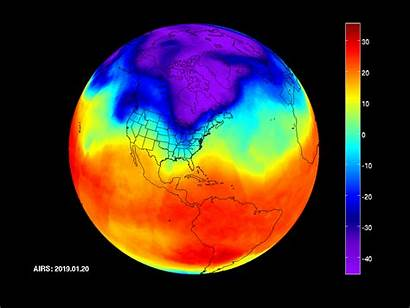 Vortex Polar Cold Nasa Moving Vortice Polare