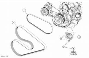 Ford F150 F250 Replace Serpentine Belt How To