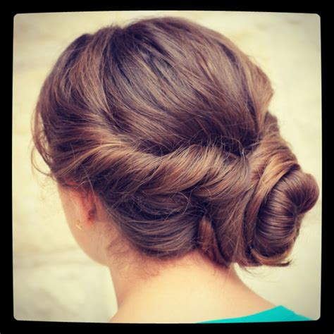 Hair Style Updo Easy Easy Twist Updo Prom Hairstyles Cute Girls Hairstyles