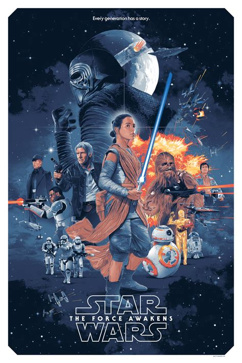Star Wars: The Force Awakens Poster by Gabz | Collider