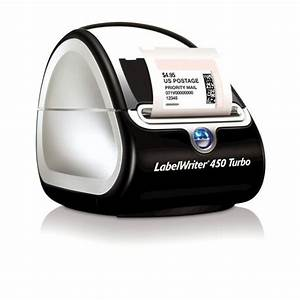 Dymo labelwriter 450 turbo printer free shipping for Dymo label sizes