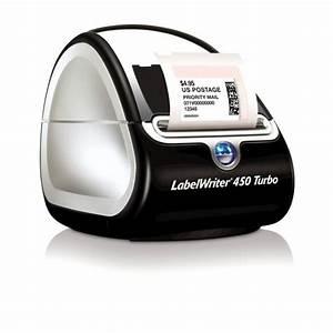 Dymo labelwriter 450 turbo printer free shipping for Dymo label sizes