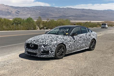 Jaguar News 2020 by 2020 Jaguar Xe Facelift Spied Testing In The Heat