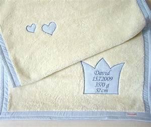 Babydecke Mit Namen Und Geburtsdatum : hochwertige babydecke blau mit geburtsdaten paulili ~ Buech-reservation.com Haus und Dekorationen