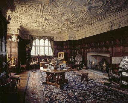 drawing room  gawthorpe hall showing jacobean
