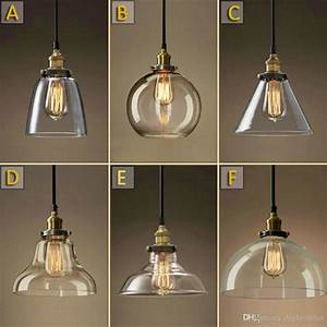 Vintage chandelier diy led glass pendant light