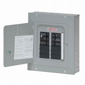 Eaton Br 100 Amp 10 Space 20 Circuit Indoor Main Breaker