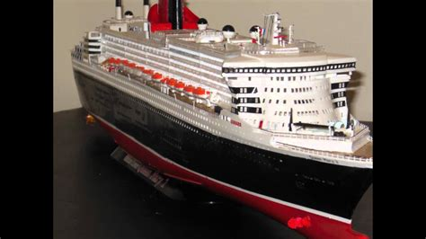 Queen Mary 2 Model Youtube