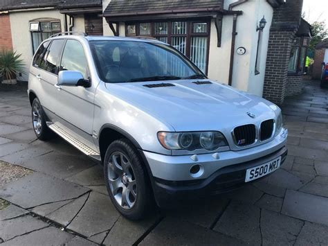 Bmw X5 Tires by Bmw X5 3 0d Sport Auto 2002 New Tyres In Stoke On Trent