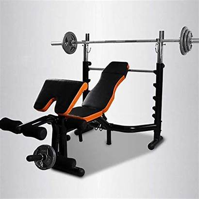 Bench Weight Rack Press Commercial Adjustable Folding