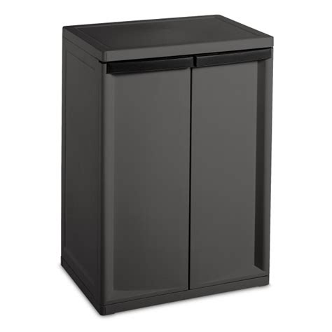 Sterilite 2 Shelf Storage Cabinet by Sterilite 2 Shelf Storage Cabinet Storage Designs