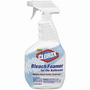 Clorox bleach foamer for the bathroom reviews for Clorox bleach foamer for the bathroom