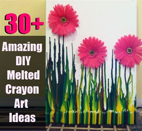30 amazing ideas and pictures 30 amazing diy melted crayon art ideas diy cozy home world home improvement and garden tips