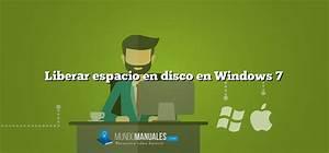 Liberar espacio en disco en Windows 7