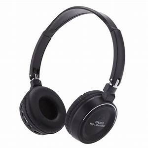 Wireless Stereo Headphones Bluetooth Headsets With Mic FM ...