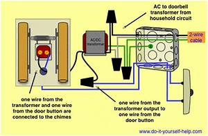 Wiring Diagrams For Household Doorbells