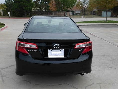 2012 Toyota Camry Se (limited Edition)