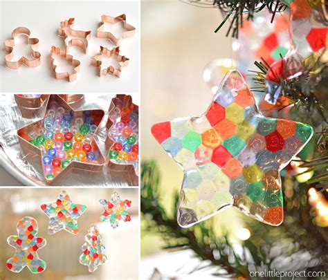 melted bead ornaments pony bead christmas ornaments