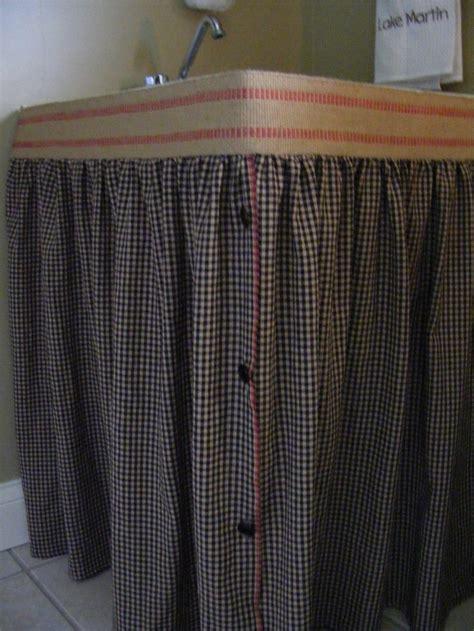 Burlap Utility Sink Skirt by 420 Best Home Decor Jute Burlap Linen Lace Organza Images