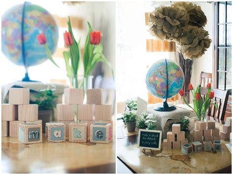 International Baby Shower - adventure awaits international themed baby shower