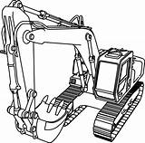 Bulldozer Coloring Clipart Pages Construction Equipment Webstockreview sketch template